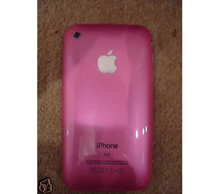 pink-iphone-3g.jpg Rumor has it that a pink iPhone and iPod touch may be out