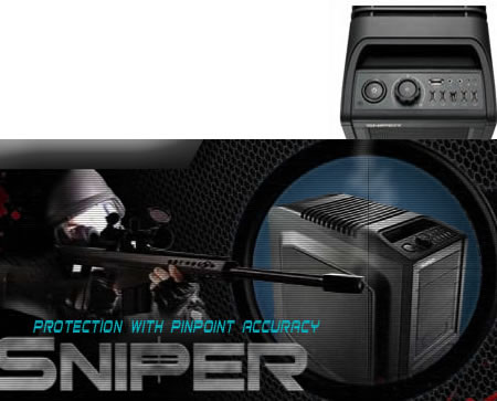 cm storm today launched the sniper gaming grade pc chassis developed ...