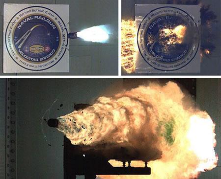 EUA fazem testes com canhão eletromagnético de alta destruição