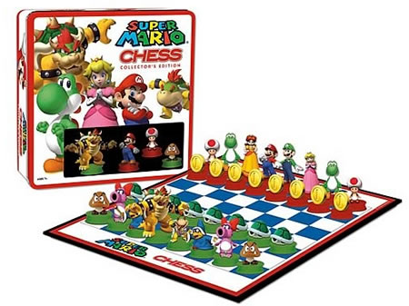 mario and luigi and peach and daisy. The good guys with Mario as