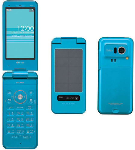 sharp solar phone sh007