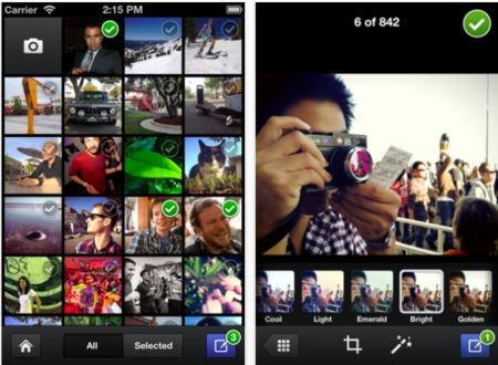 Facebook Camera app for iOS thumb 450x330 Facebook unveils Camera for iOS users