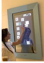 Philips In Touch Concept Message Board - Newlaunches.com :  mirror design touch screen newlaunches