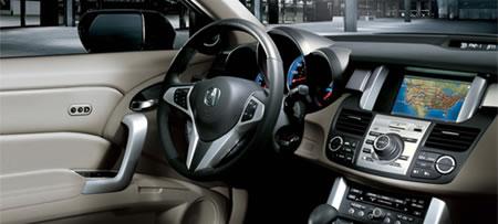 Acura RDX Car gps temperature