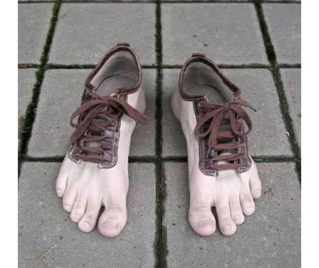 shoes that look like bare feet