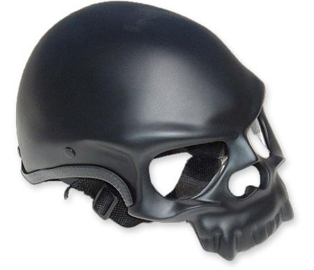 Santiago Choppers Skull Helmet