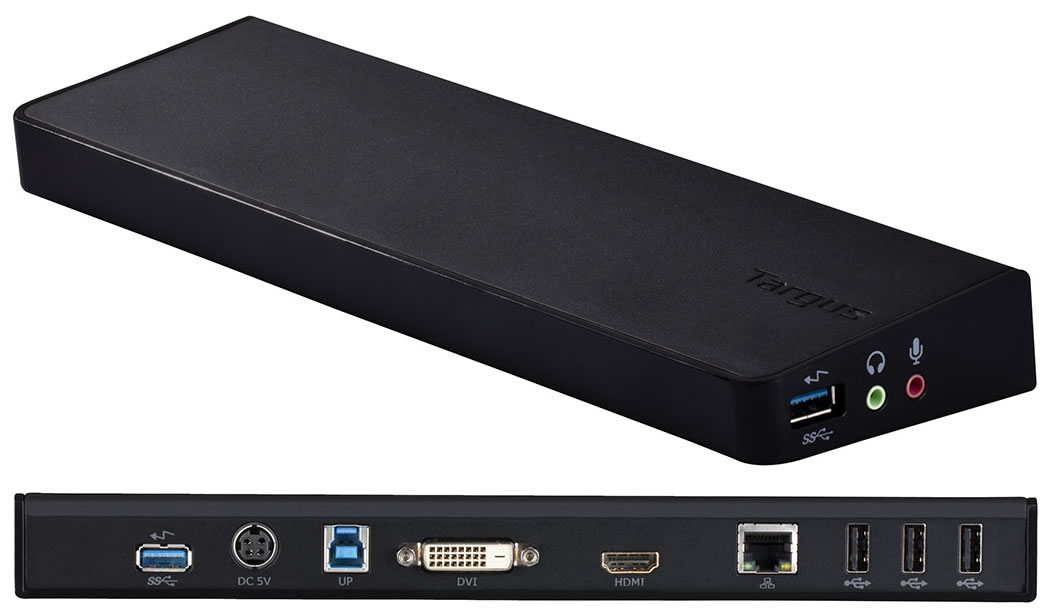 Targus Announces The Market's First USB 3 0 Docking Solution
