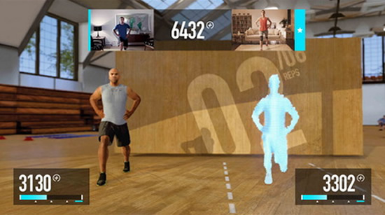 Nike Kinect Training