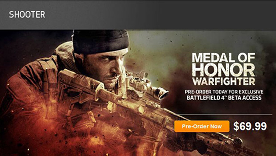01 Battlefield 4 Medal of Honor Warfighter
