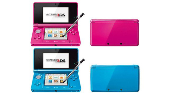 04 Nintendo 3DS Cerulan Shimmer Nintendo 3DS comes in hot colors