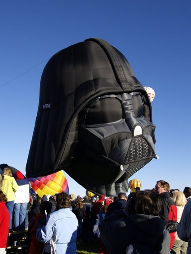 Darth Vader Hot Air Balloon 5