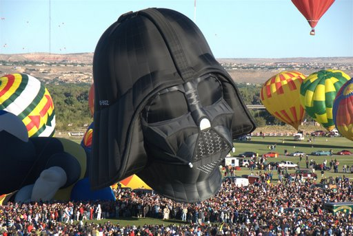 Darth Vader Hot Air Balloon 6