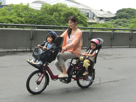 Yamaha Releases Pas Electric Bikes With Child Safety Seats
