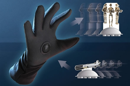 force glove 1 Magnetic Force Glove enables you to use the energy of the Force and magnetism!