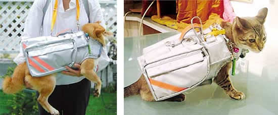 pet evacuation jacket japan