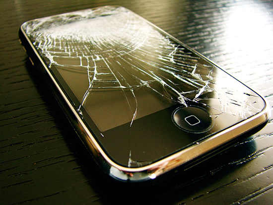 broken iphone 2