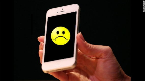 iPhone Sad Smiley 570x320
