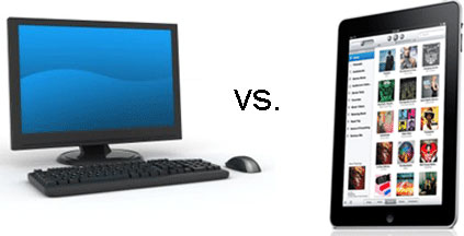 tablet vs PC