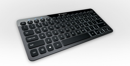 02 Logitech K810 Bluetooth Illuminated Keyboard