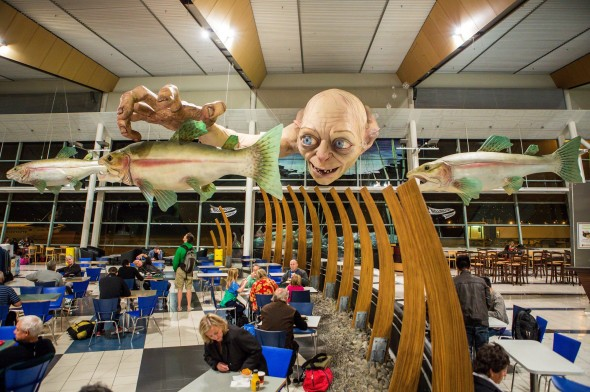wellington airport biggest gollum 590x392
