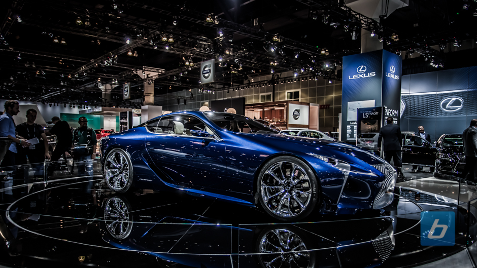 Lexus gives Santa a new ride, the flying LF-LC electric car!