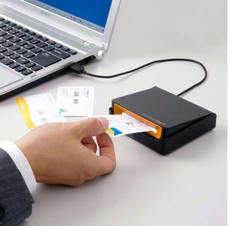 Usb powered business card scanner will make your presence felt usb powered business card scanner will make your presence felt digitally reheart Gallery