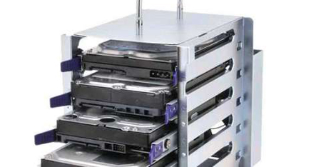 A Portable 5 Bay Hard Drive Rack May Be Just What You Need