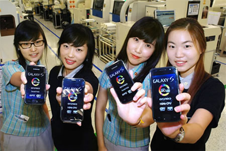 1 million samsung galaxy s