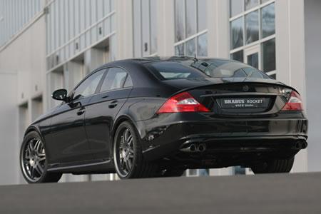 brabus mercedes cls the worlds fastest sedan. Black Bedroom Furniture Sets. Home Design Ideas