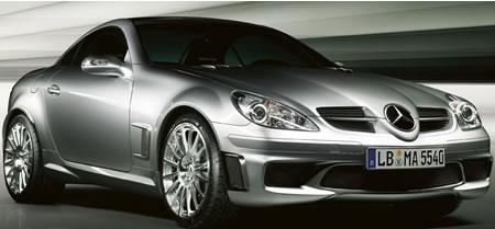 Mercedes 400 hp slk 55 amg special series for Mercedes benz slk 55 amg special edition