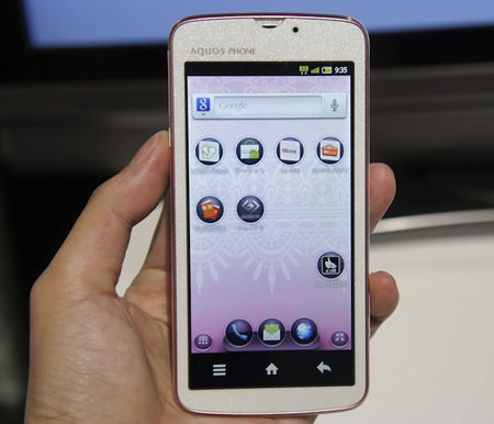 Sharp Aquos IS03 makes you want to forget the Samsung ...