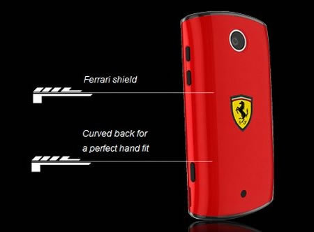 Acer Liquid Mini Ferrari Edition handset 2