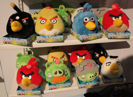Angry Birds Merchandise Stores thumb 450x330