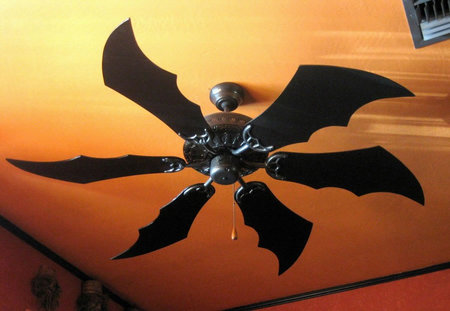 Batman inspired ceiling fan thumb 450x311