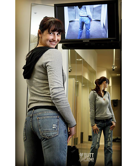 Webcam butts