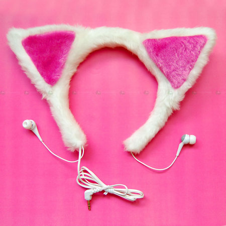 Cat Ear Headphones 1 thumb 450x450