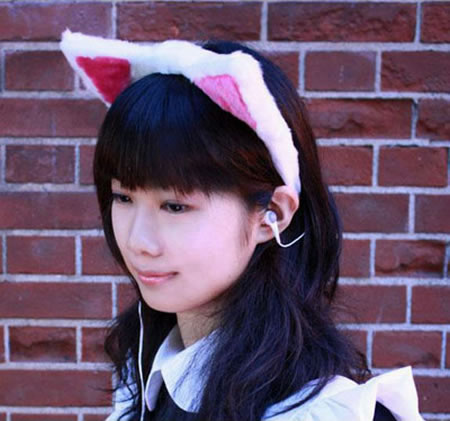 Cat Ear Headphones 2