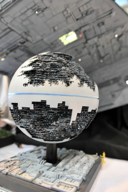 the coolest second death star model you will ever see