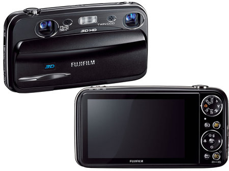 Fujifilm's FinePix W3 3D point and shoot camera is a world's first