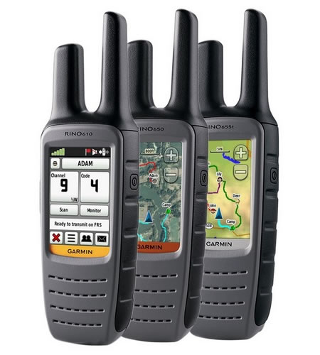 Garmin Rino radios with GPS