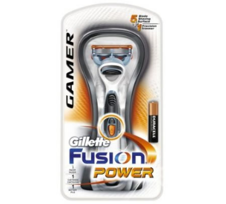 Gillette Fusion Power Gamer Razor For Gamers Who Bother