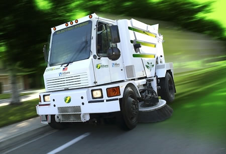 Worlds First Hybrid Street Sweeper Makes Its Debut In NYC - Nyc street sweeping map