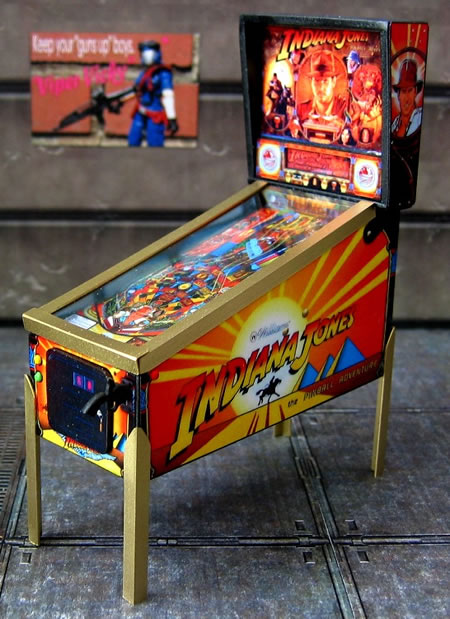 Miniature Indiana Jones The Pinball Adventure Arcade Game