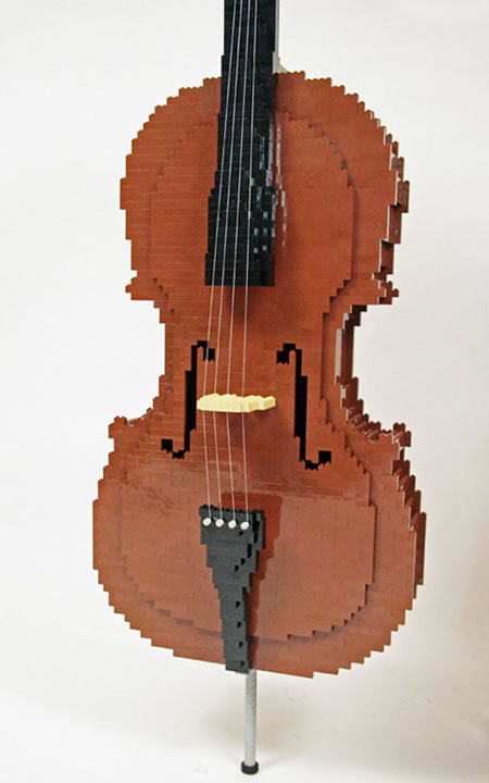 LEGO Cello 4