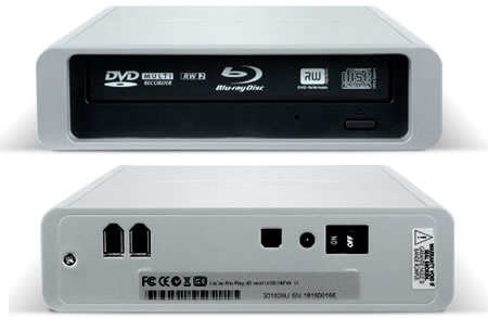 LaCie d2 external BluRay drive2