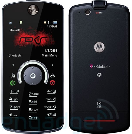 Motorola ROKR E8 on T-Mobile