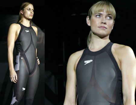 "Speedo's ""fastest bathing suit"" uses technology from NASA"