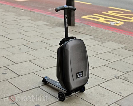 Samsonite scooter luggage4