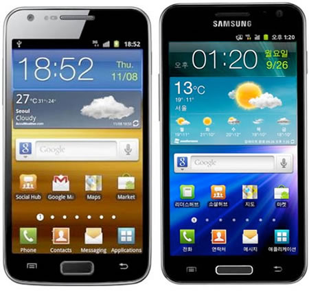 Samsung Galaxy S II HD LTE smartphone unveiled for South ...