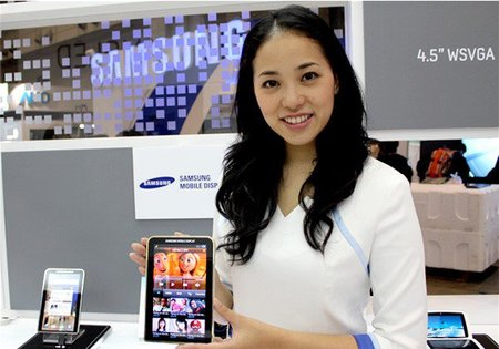 Samsung Galaxy Tab with AMOLED screen thumb 450x315